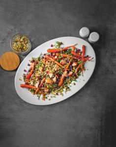Super Wheatberry with Roasted Carrots and Salmon (2)