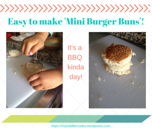 Easy to make 'Mini Burger Buns'! (2)
