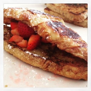 french toast croissant