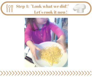 Step 4- Cook the pasta